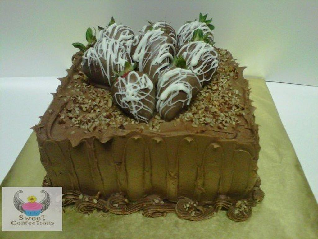 Chocolate Grooms Cake by Angelica