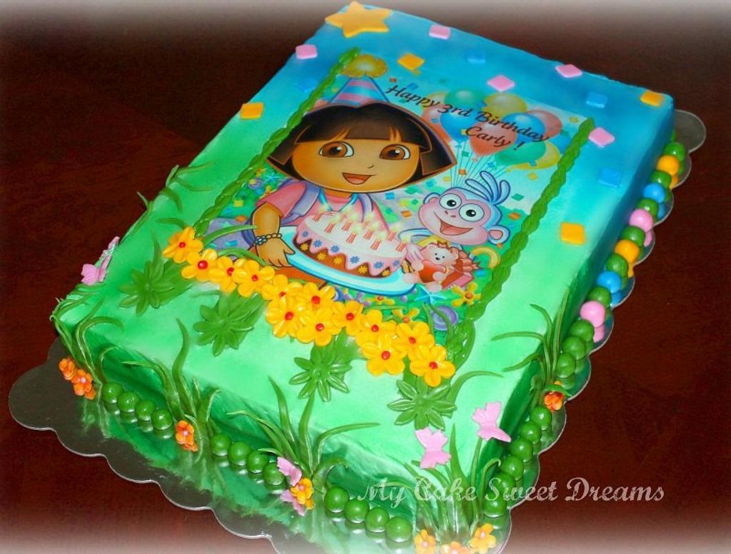 Dora Birthday Cake by My Cake Sweet Dreams