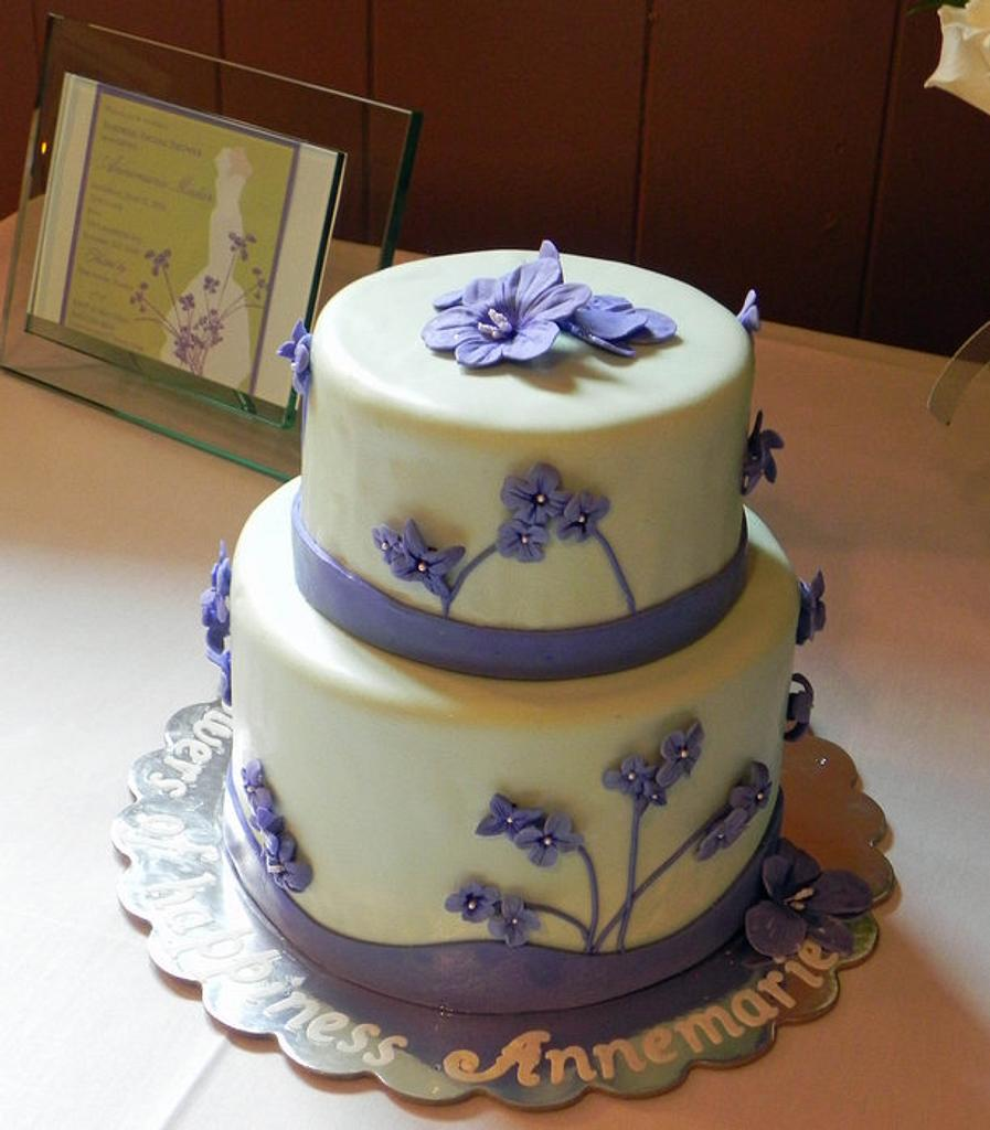 Bridal Shower Cake by Karen