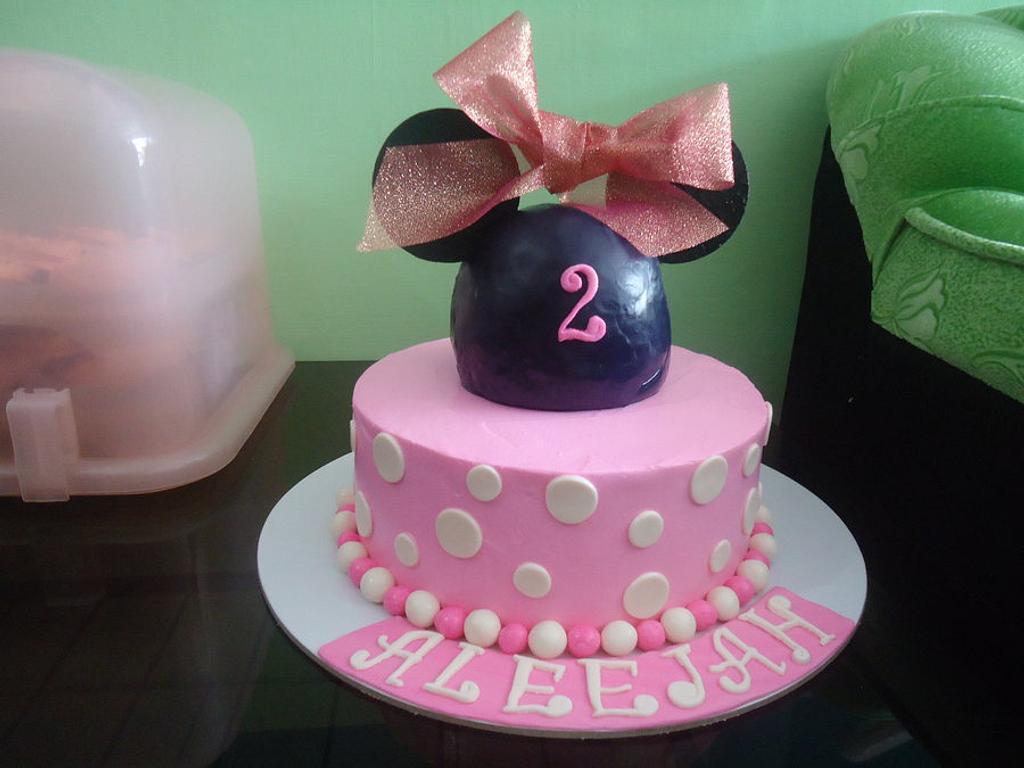 My First Minnie Cake by Venelyn G. Bagasol