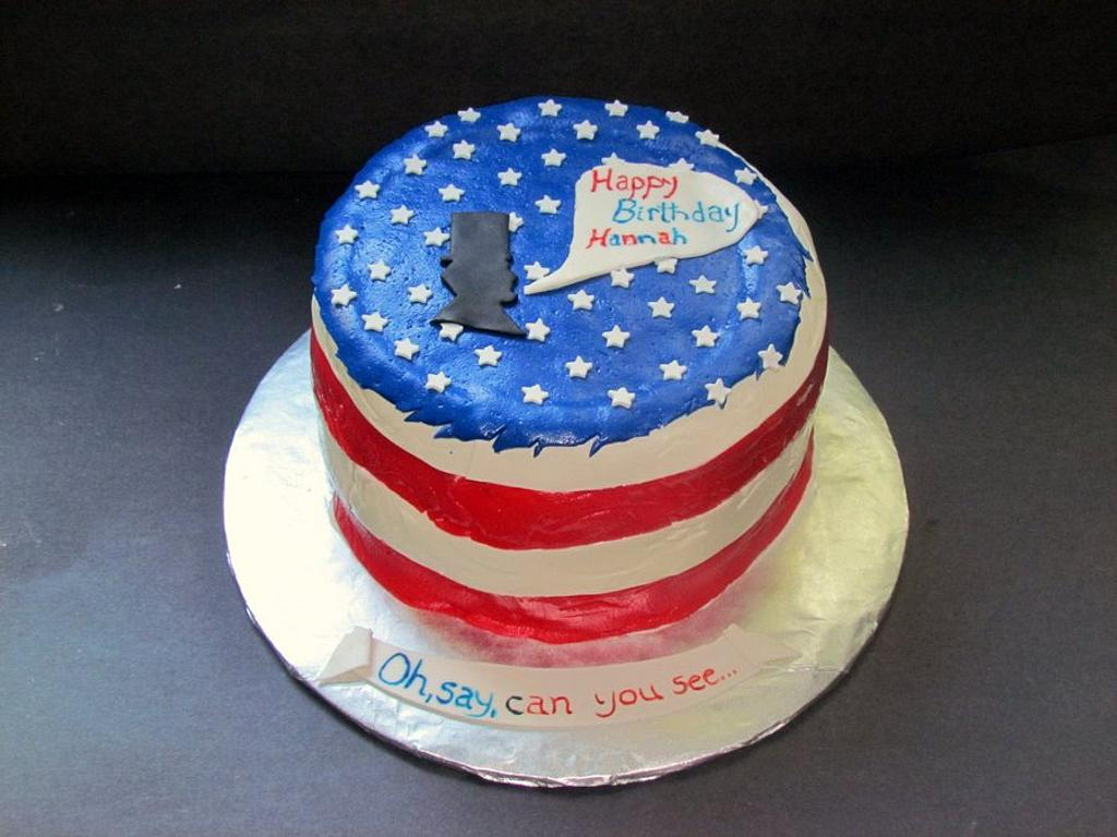 American Patriot by NickySignatureCakes