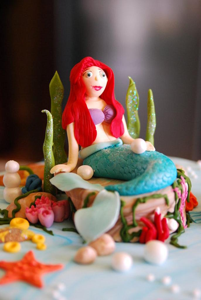 Ariel the mermaid  by designed by mani