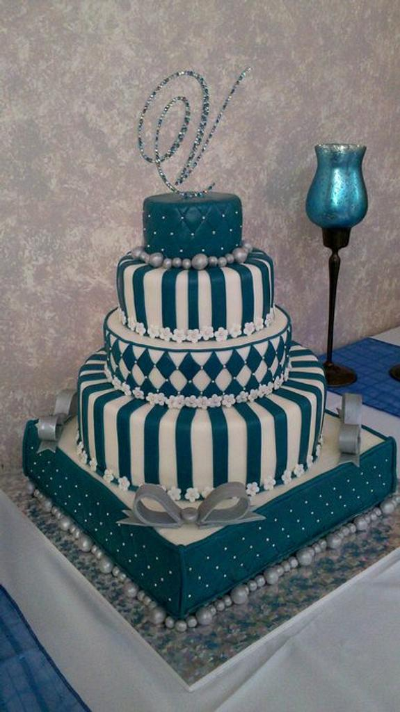 Quinceanera Cake by Loretta