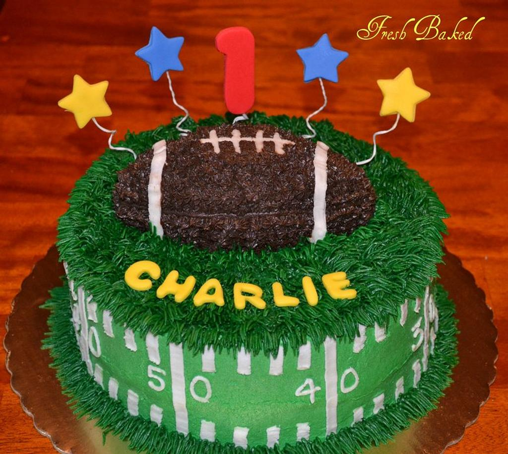 Football First Birthday by Jamie Dixon