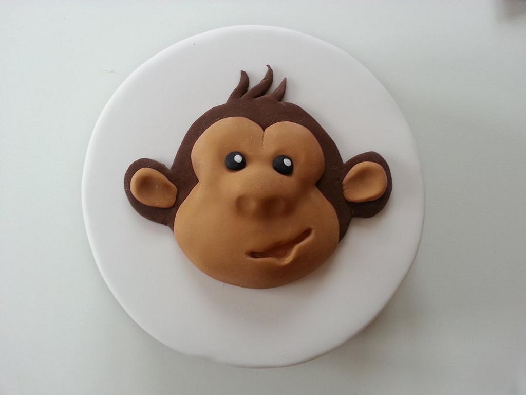 Monkey cake by Rachel Nickson