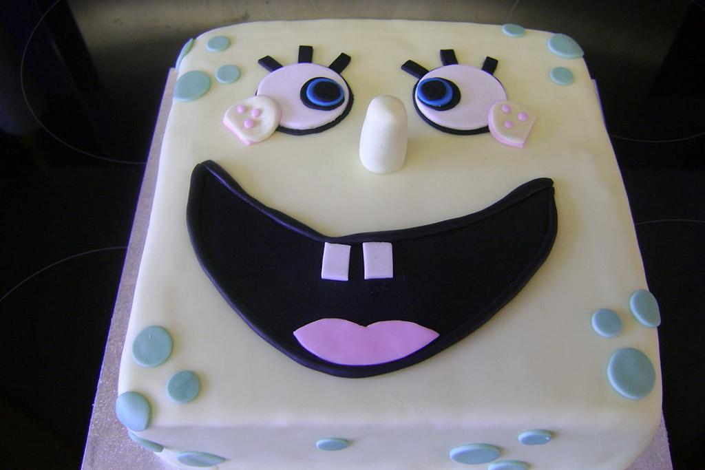 sponge bob by Beverley Childs