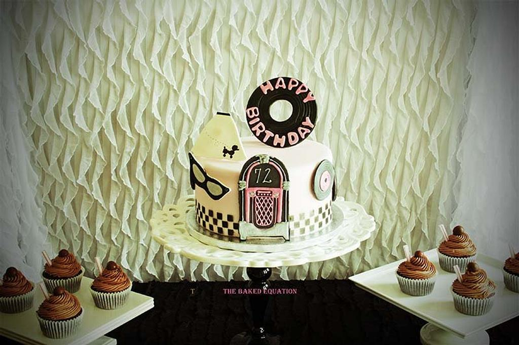50's Party Cake by Melissa