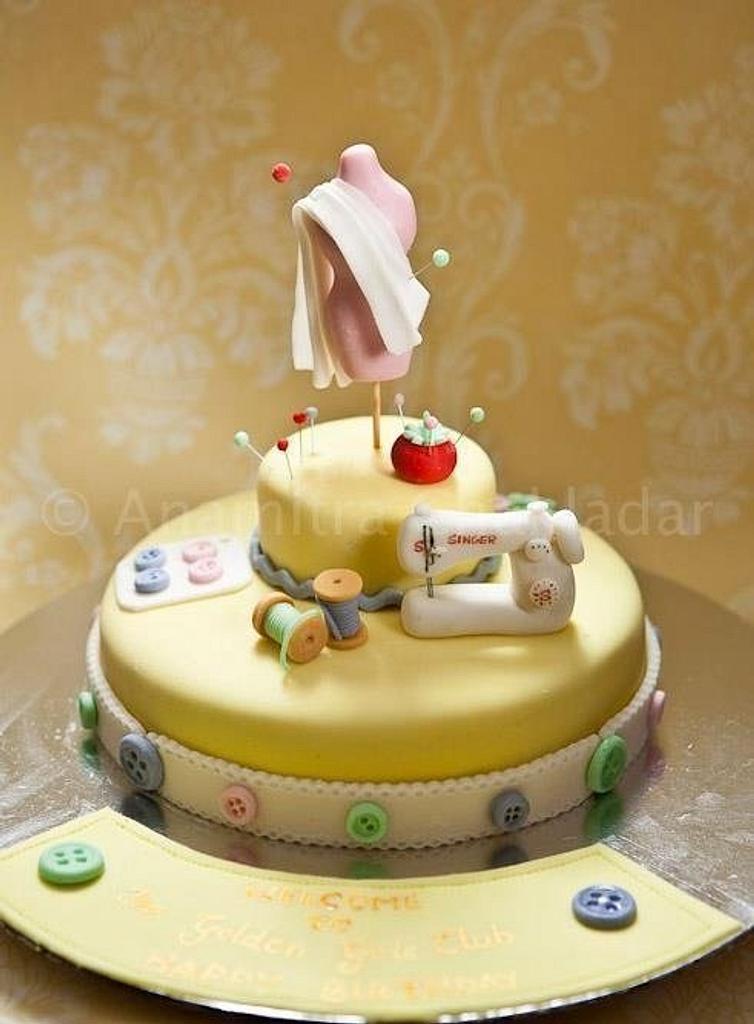 Fashion designer by The Hot Pink Cake Studio by Ipshita