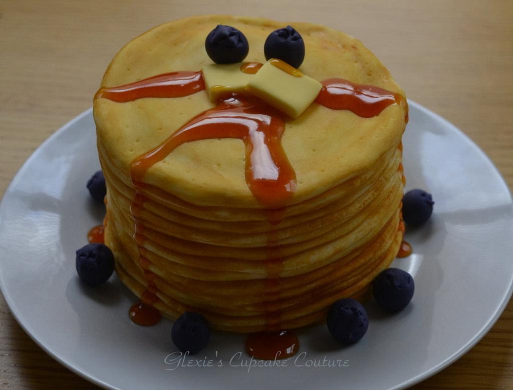 pancake cake by glenda