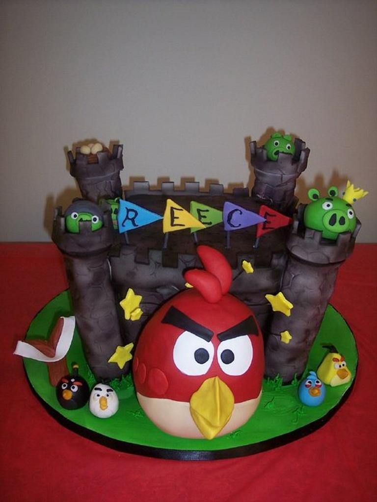 Angry Birds by Meghan Smith