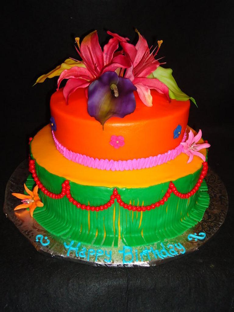 Hawaiian Birthday by Kim Leatherwood