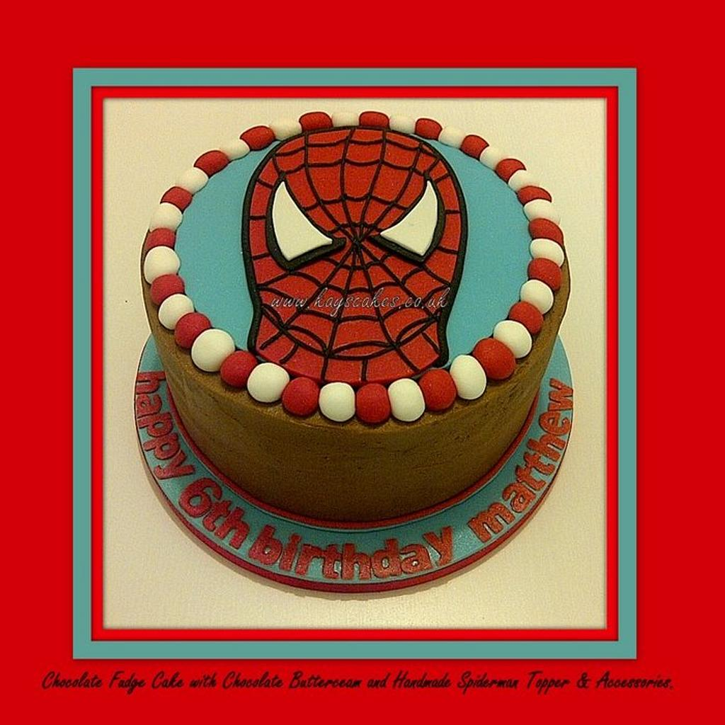 Spiderman Cake by Kays Cakes