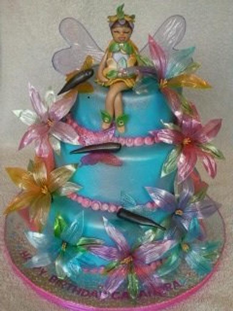 Fairy Cake by Designer Cakes by Anna Garcia
