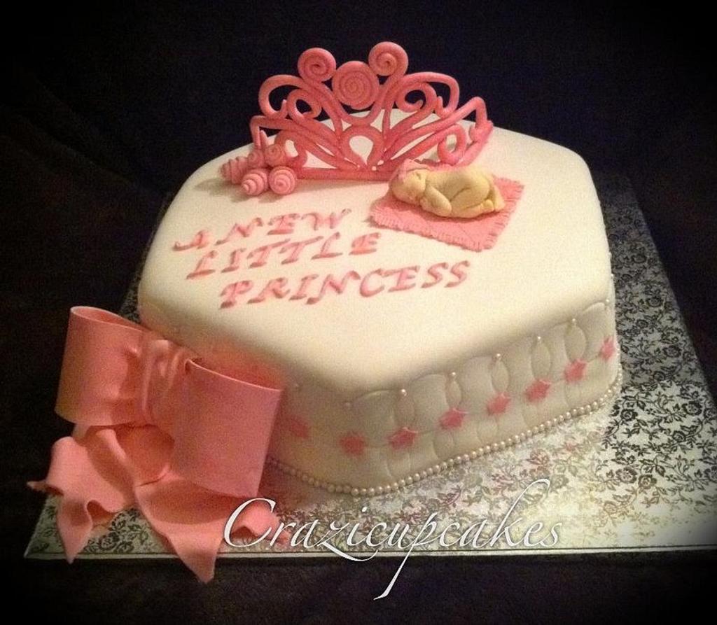 """new little princess"" baby shower by Megan Cazarez"