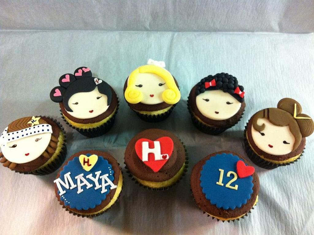 Harajuku cupcakes by Hot Mama's Cakes