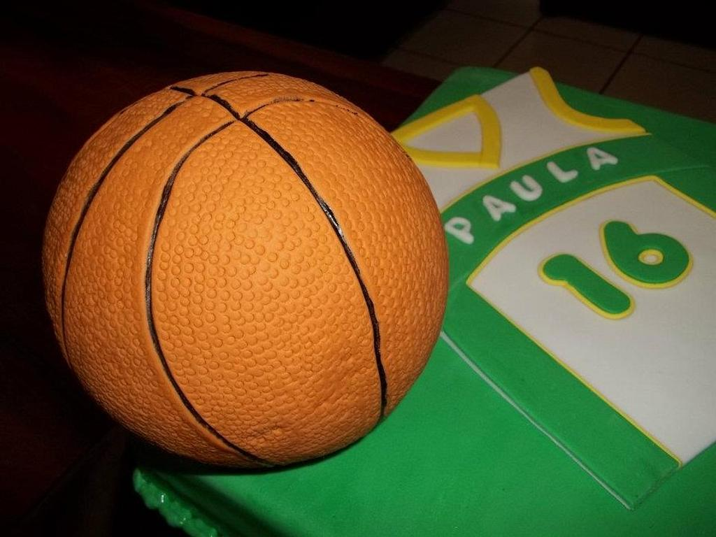 Basketball Birthday by N&N Cakes (Rodette De La O)