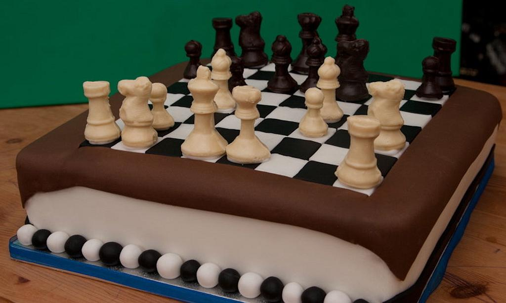 Chess cake by Kelly