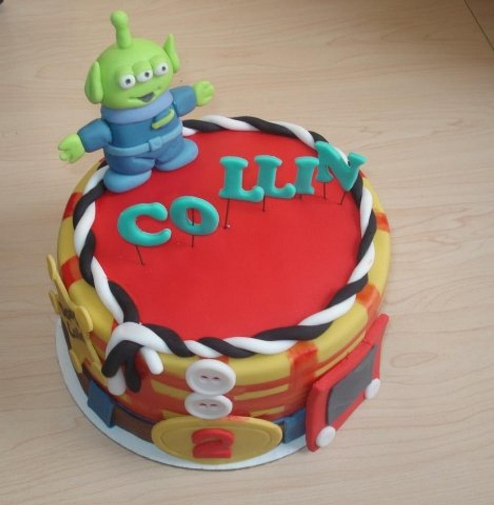 Toy Story Inspired Cake  by Hakima Lamour