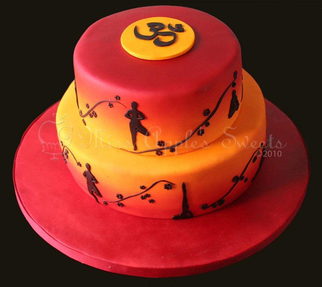 Yoga Cake by Karen Dourado