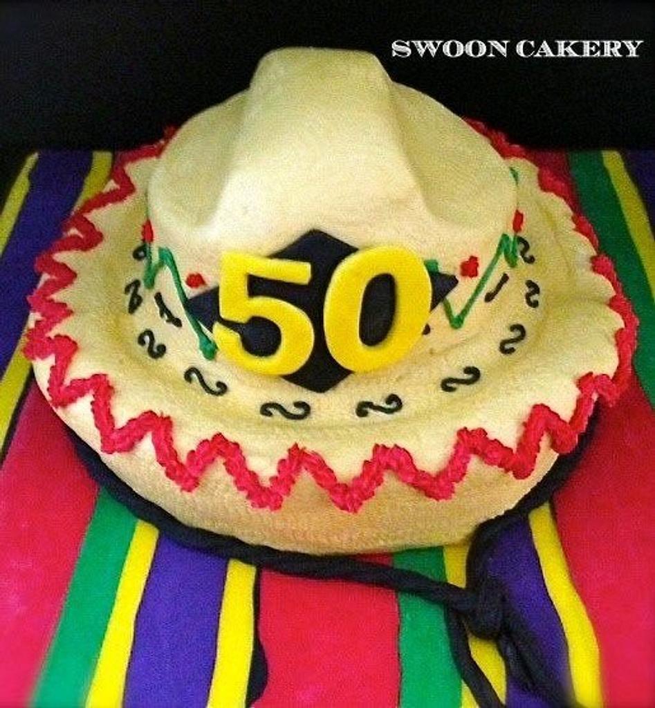Cinco de Mayo Cake by SwoonCakery