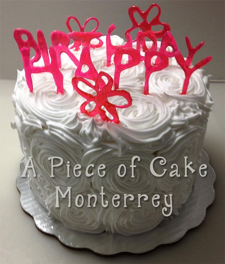 Happy Birthday by Cake Boutique Monterrey