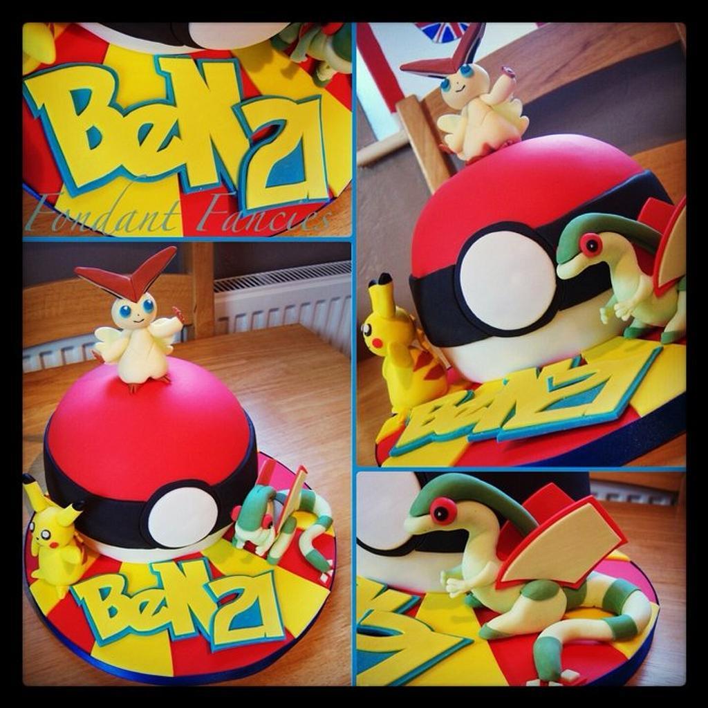 Pokemon ball by Gemma Coupland