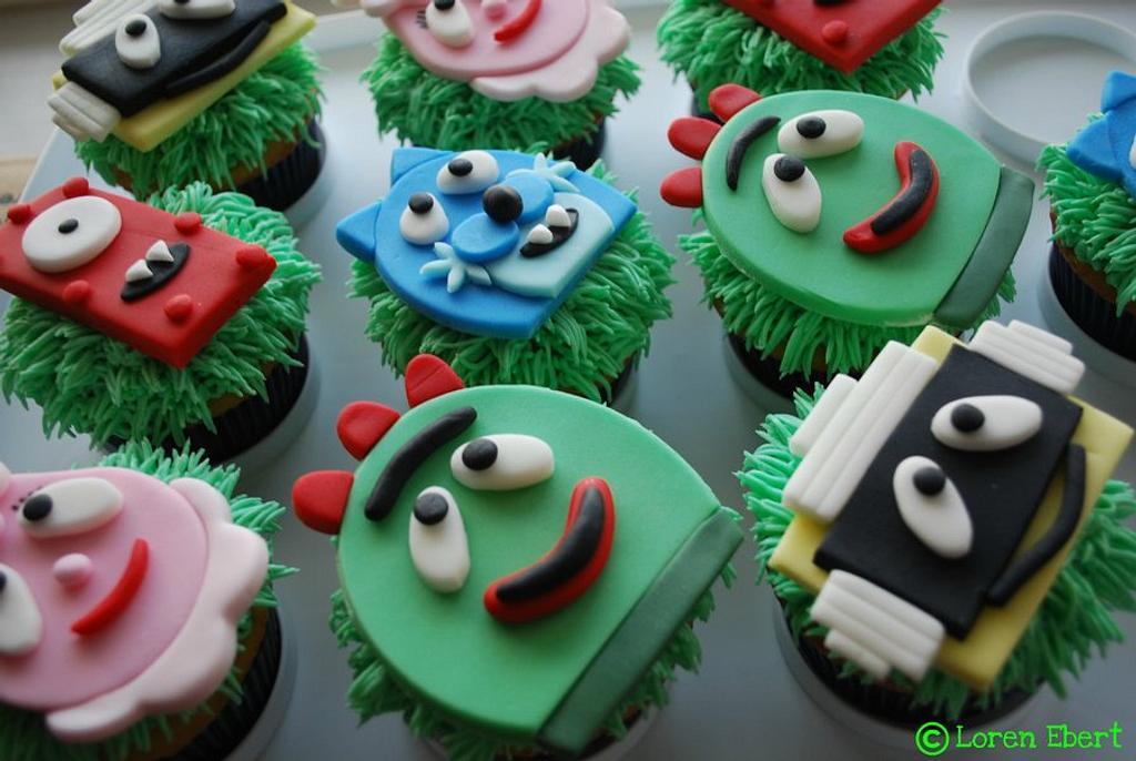 Yo Gabba Gabba Cupcakes! by Loren Ebert