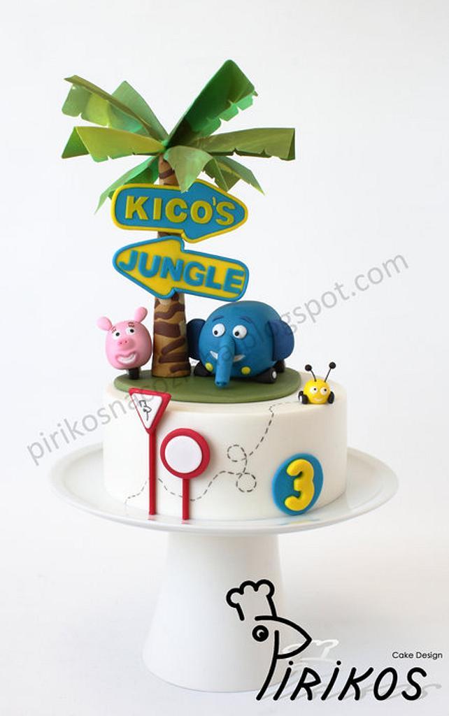 Jungle Junction by Pirikos, Cake Design