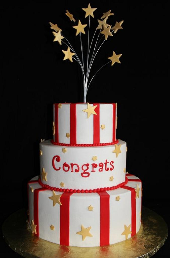 Mom's Retirement cake by SweetdesignsbyJesica