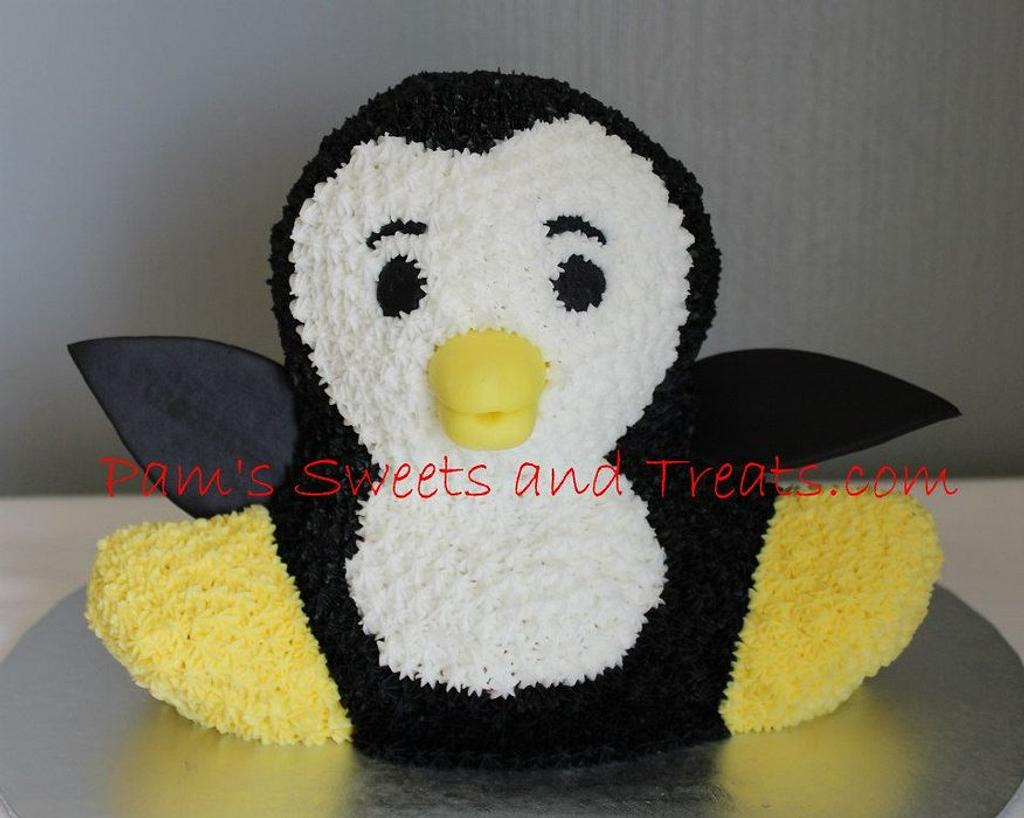 Penguin Cake by Pam