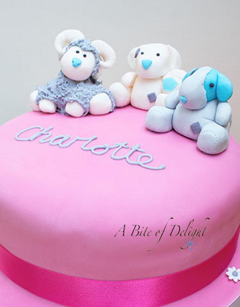 Tatty Teddy Friends Birthday Cake by Melanie
