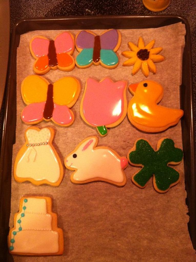 Spring cookies by Jen Scott
