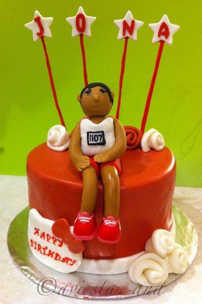 Avid runner cake by ALotofSugar