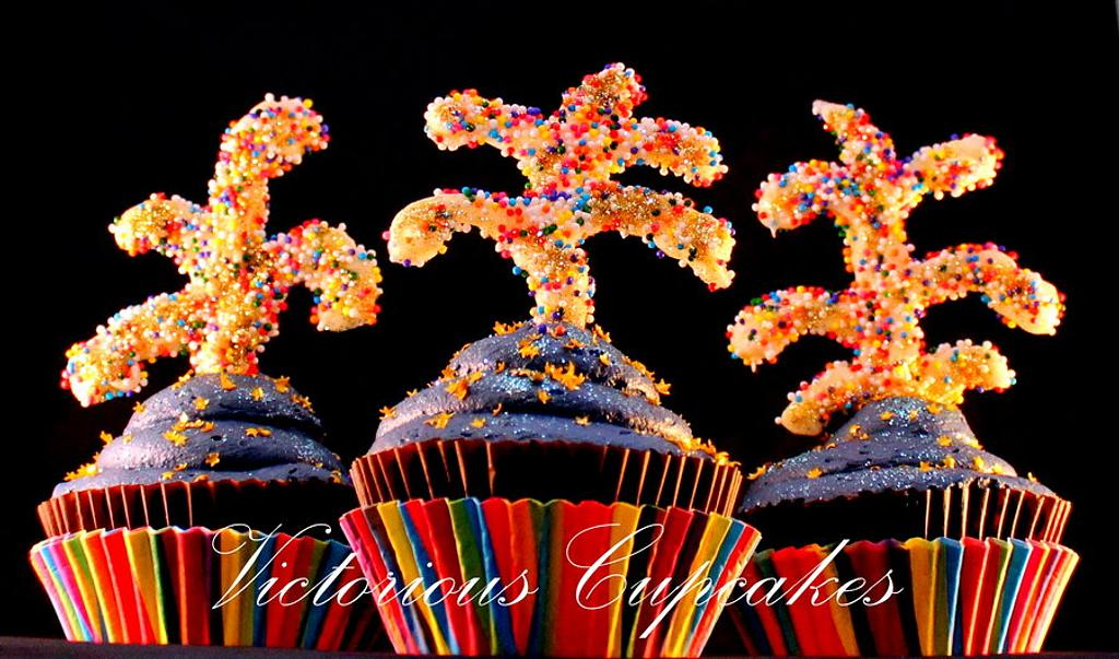 Baby you're a Firework! by Victorious Cupcakes