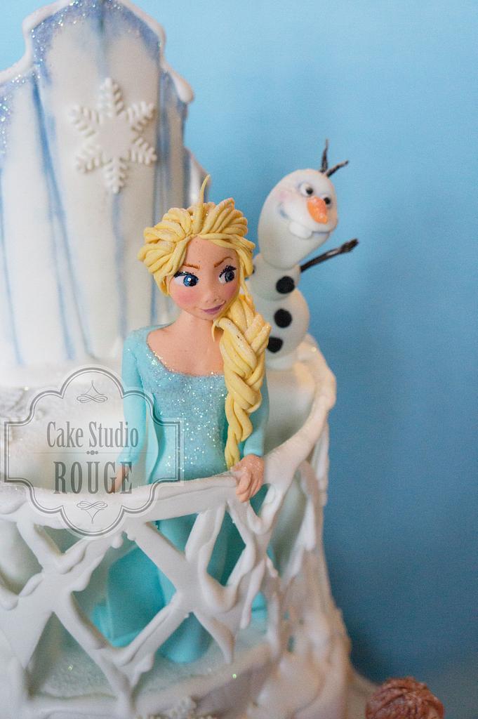 Elsa, Anna, Kristoff, Olaf and Sven by Ceca79
