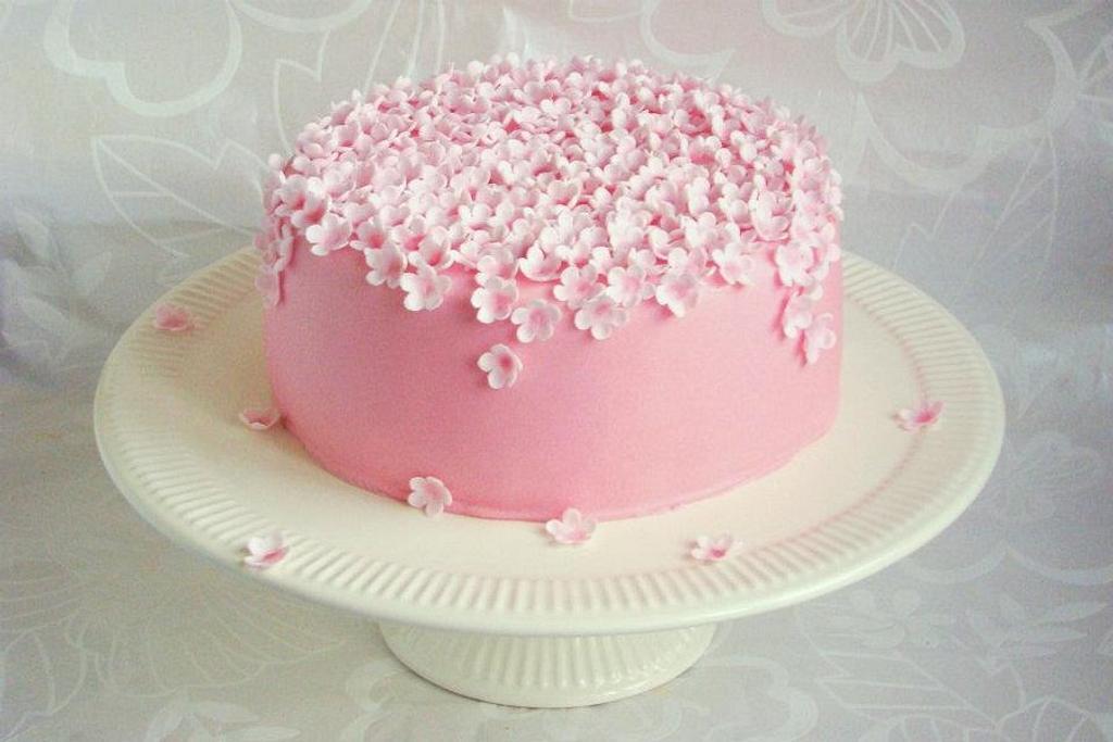 Little flower cake by verjaardagstaartenbestellen.nl by Linda