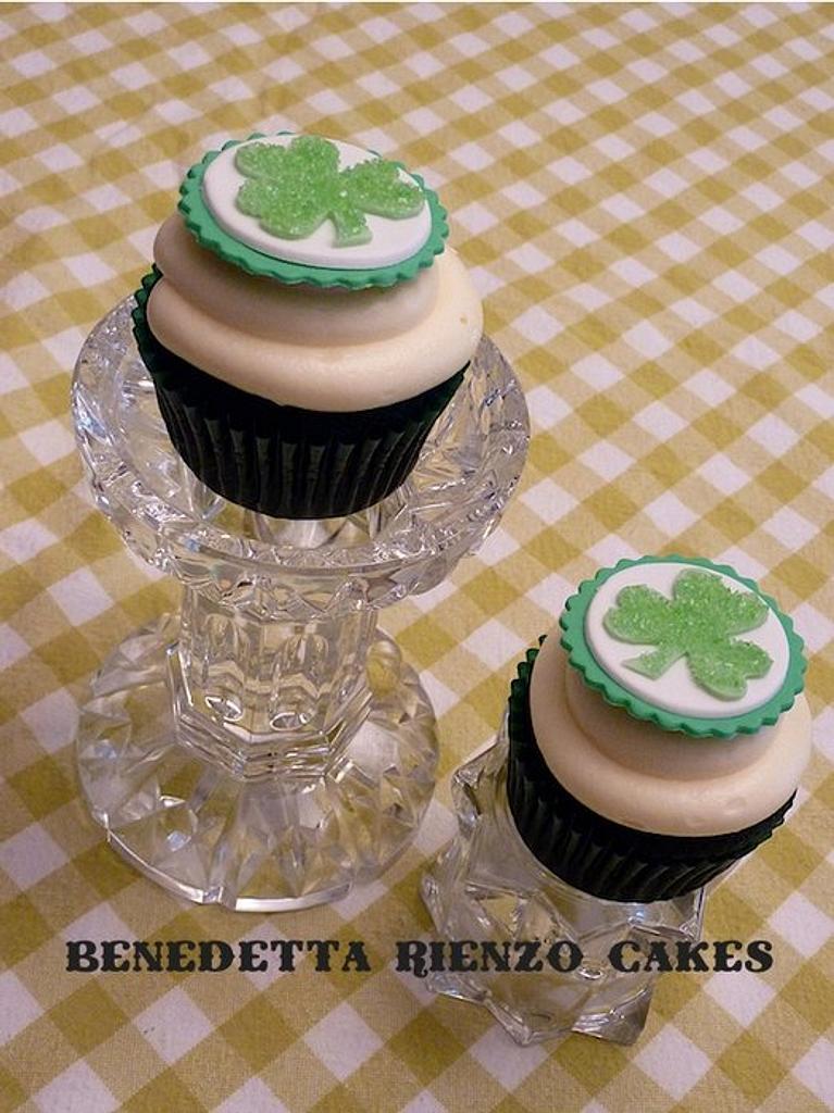 Shamrock Cupcakes by Benni Rienzo Radic