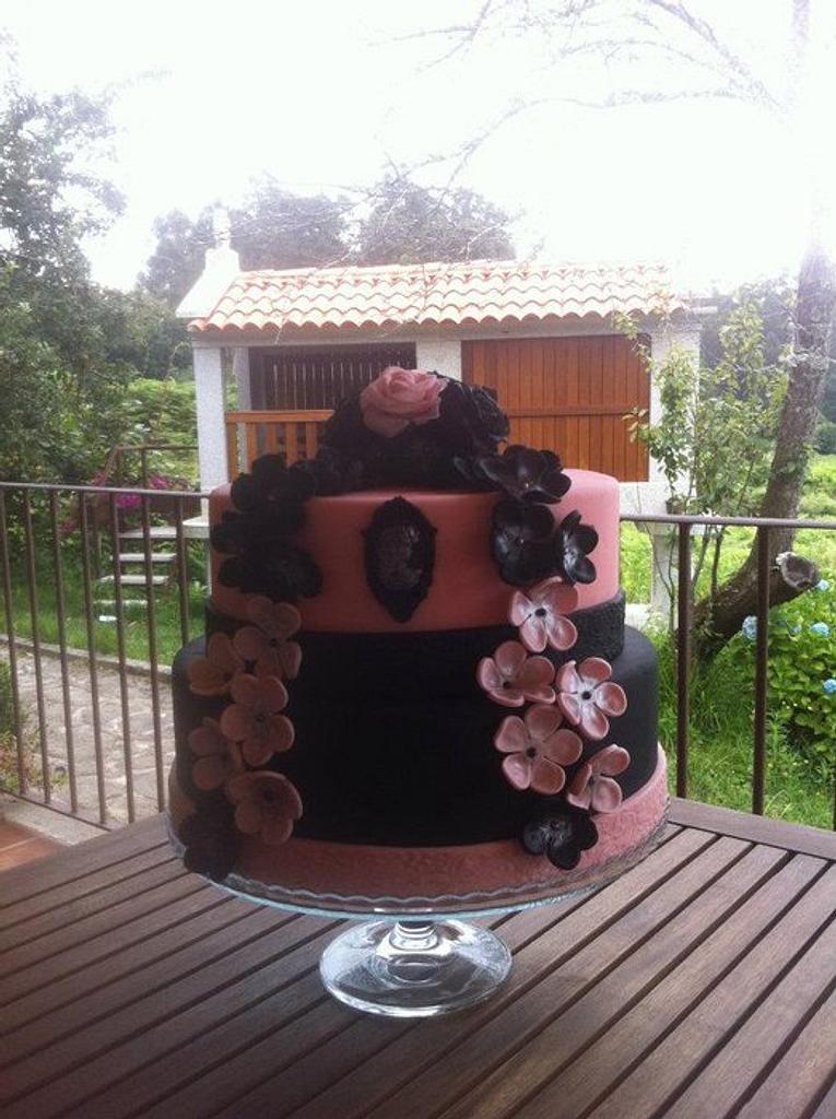 Wedding cake by Dulceycia