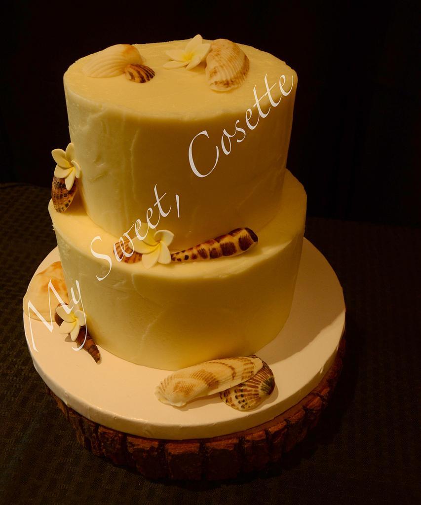 Beach Cake by Cosette