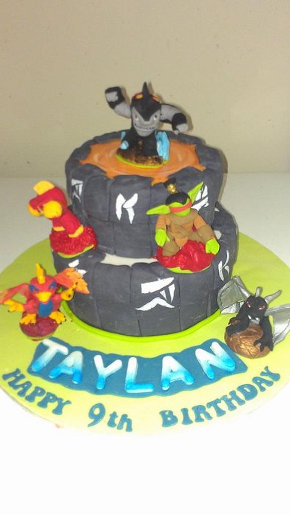 skylander cake by jodie baker