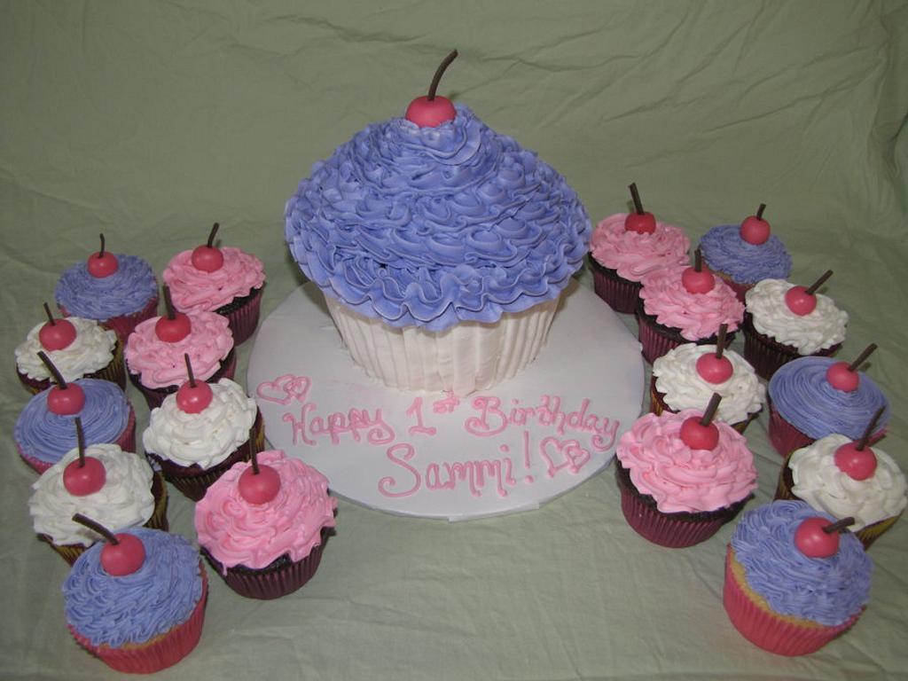 Cupcake birthday party! by Tiffany Palmer