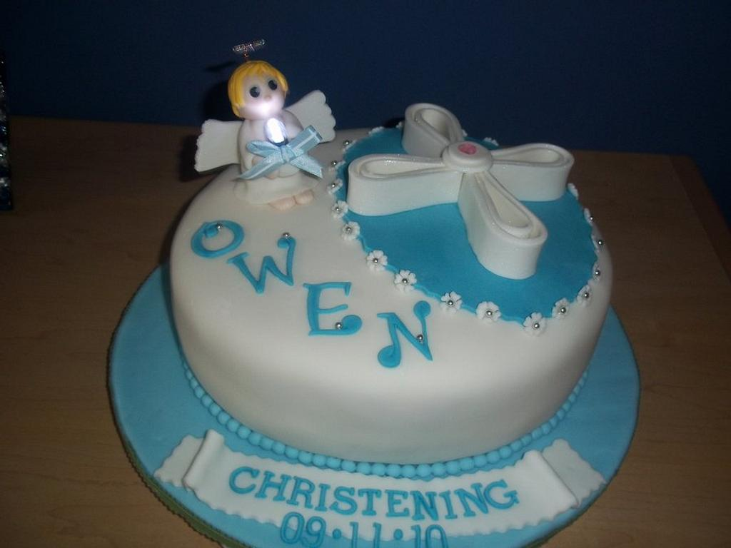 Christening cake by SweetCreationsbyFlor