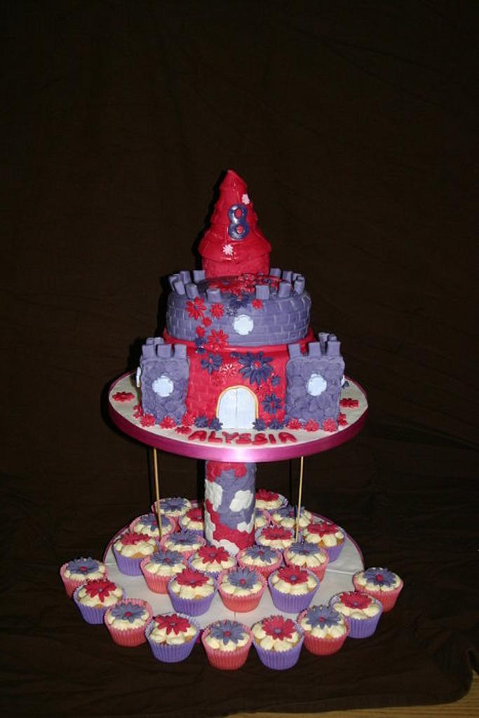 8th Birthday Castle by Tiggy