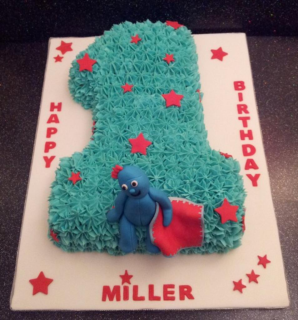 Iggle Piggle Number 1 by Sarah Poole