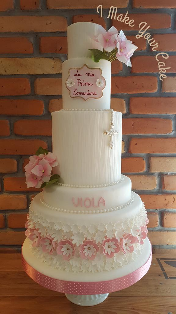 First Communion of Viola by Sonia Parente