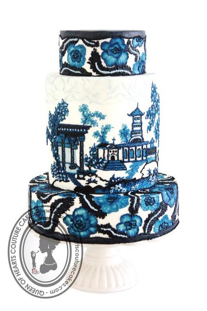 Wedgwood by Queen of Hearts Couture Cakes
