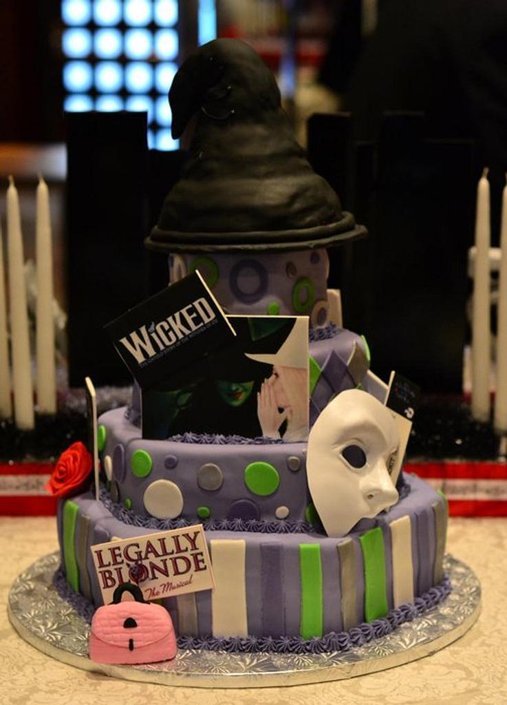 Broadway Themed Sweet 16 by Cookielady
