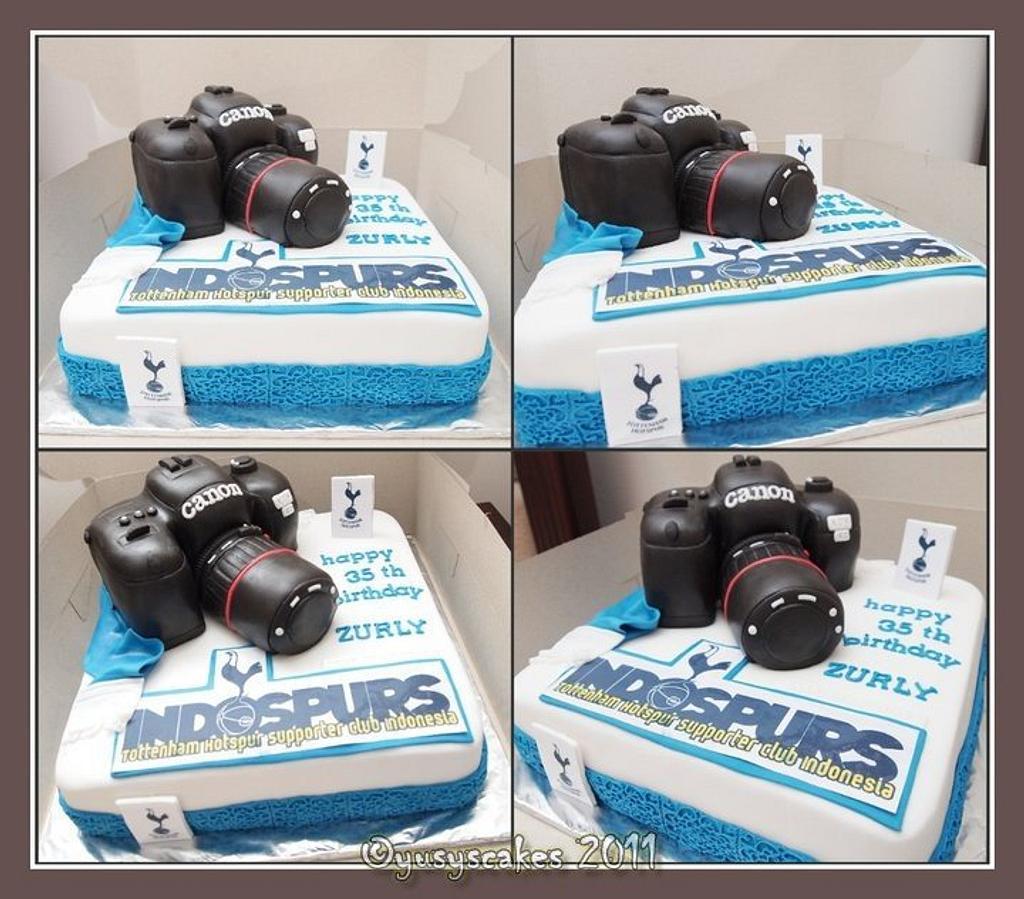 Camera Canon Cake by Yusy Sriwindawati