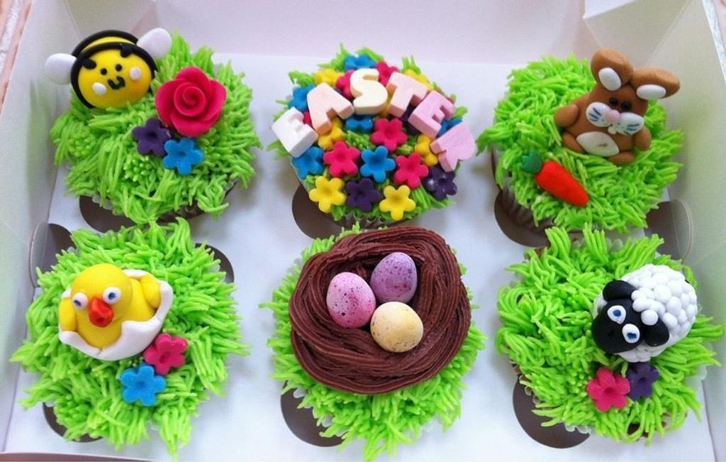 Easter Cupcakes by Claire Lawrence