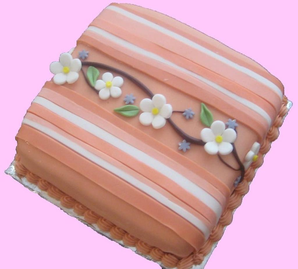 cake withflowers by lisssa